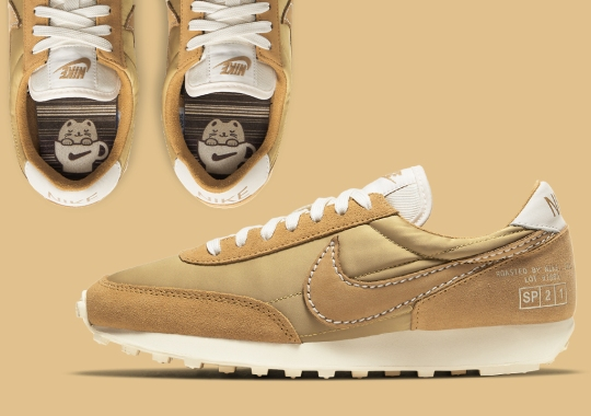 """The Nike Daybreak """"Coffee"""" Opts For A Splash Of Milk"""