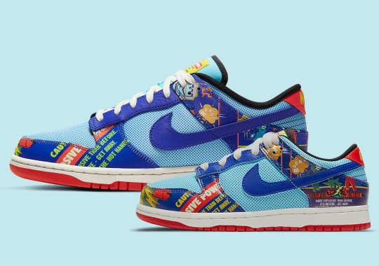 """The Nike Dunk Low Retro CNY """"Firecracker"""" Is Releasing In Multiple Family Sizes"""