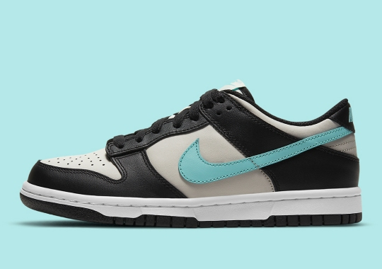 """Slight """"Tiffany"""" Vibes Appear On This Nike Dunk Low For Kids"""