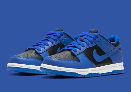 """Nike Dunk Low """"Hyper Cobalt"""" Releasing In Adult And Kid Sizes"""