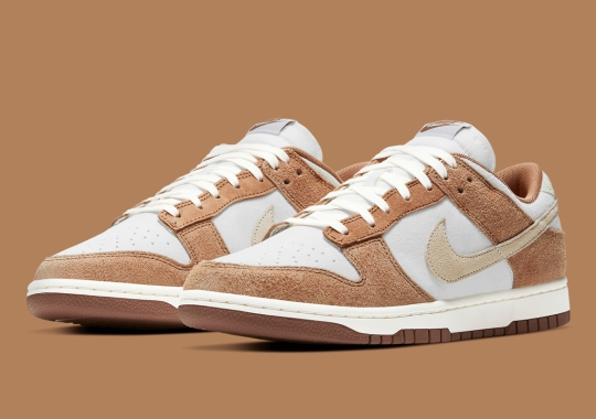 """Official Images Of The Nike Dunk Low """"Medium Curry"""""""