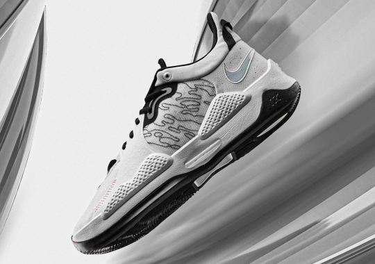 Contrast Stitching Accents The Contour Lines Of The Nike PG 5