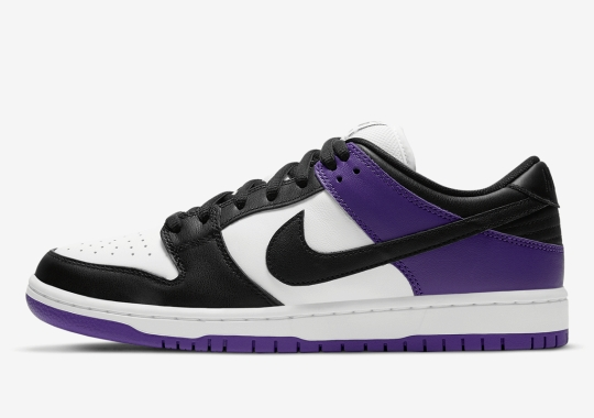 "Where To Buy The Nike SB Dunk Low ""Court Purple"""