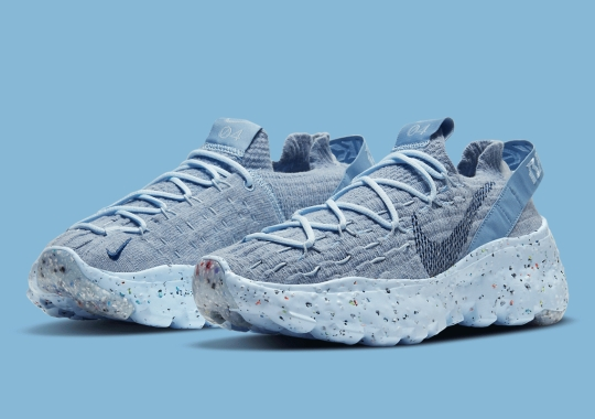 "Another Take On ""Chambray"" Appears On The Nike Space Hippie 04"