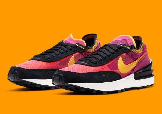 The Nike Waffle One Combines Elements Of The Sacai LDWaffle And Undercover Daybreak