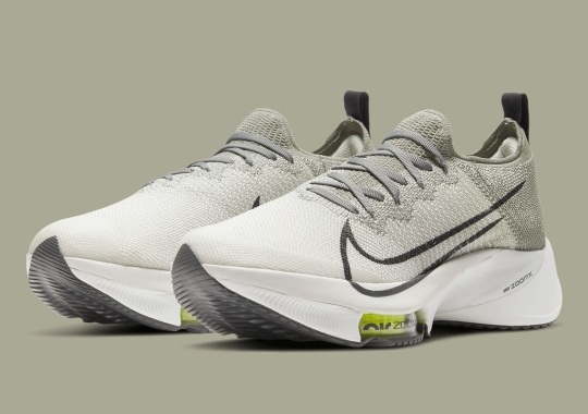 """The Nike Zoom Tempo NEXT% Coming Soon In """"Dark Stucco"""""""