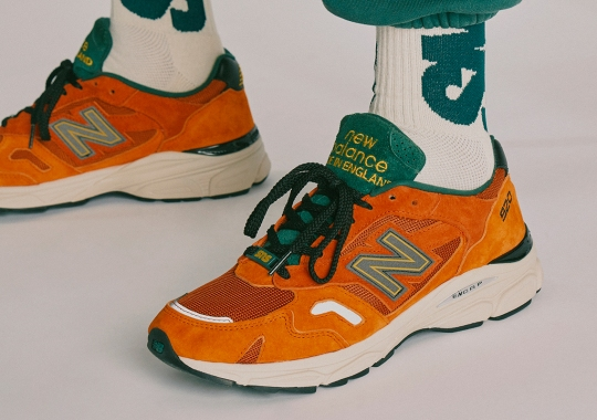 SNS Founders Tease A New Balance M920 In Orange And Green