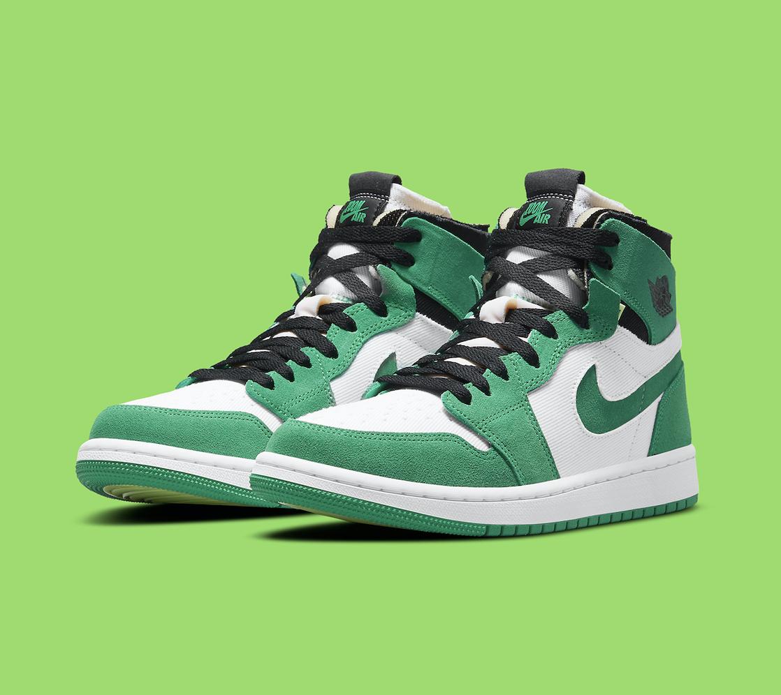 Air Jordan 1 Zoom CMFT Stadium Green CT0979-300 | SneakerNews.com