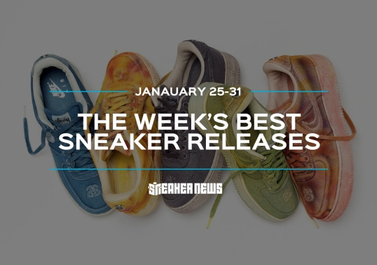 Stussy's Hand-Dyed Air Force 1s And Patta's New Balance 991 Headline This Week's Best Releases