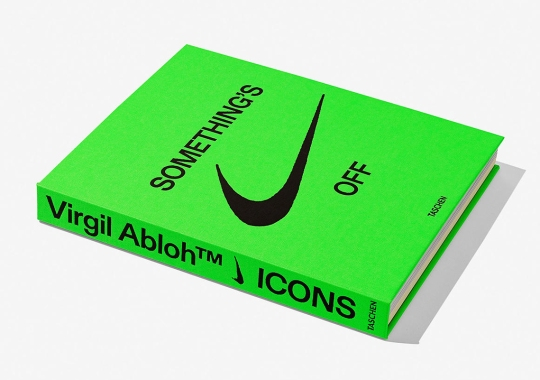Virgil Abloh And Nike To Release ICONS Book Cataloging 50-Plus Sneaker Designs