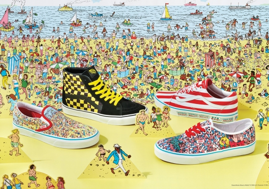 Vans Attempts To Find Waldo With Graphic-Heavy Collaborative Capsule