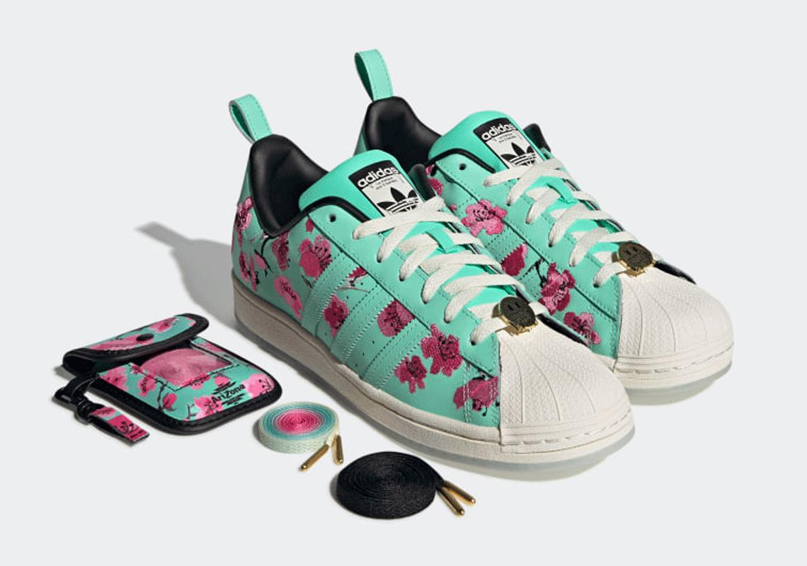 AriZona Iced Tea adidas Superstar GZ2877 | SneakerNews.com