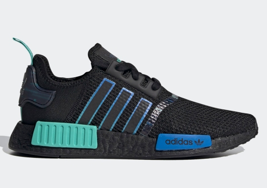 """adidas Adds Futuristic Graphics To The NMD R1 """"Gaming Pack"""""""