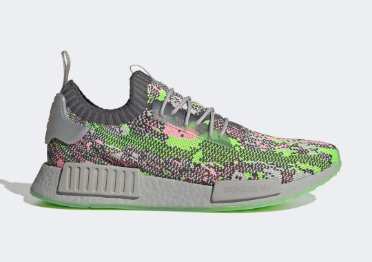 "adidas Bring Back Glitch Camo On This NMD R1 ""Hyper Pop"""
