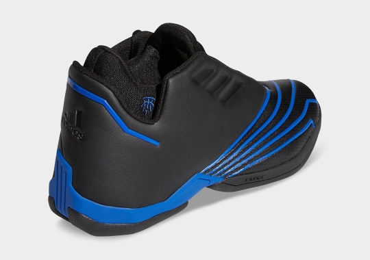 The adidas T-MAC 2.0 EVO, A Modern Upgrade Of The T-MAC 2, Is Dropping In OG Black/Royal