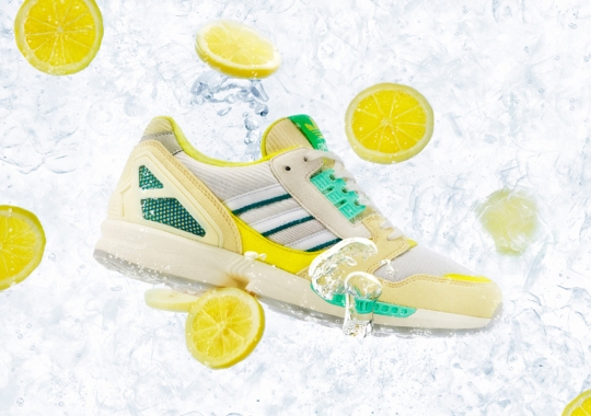 "adidas Celebrates Summer In January With The ZX 8000 ""Frozen Lemonade"""