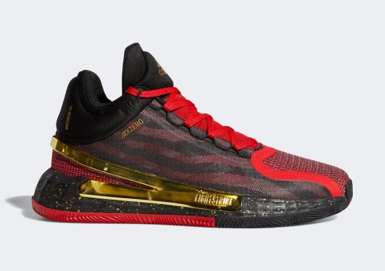 The adidas D Rose 11 Gets Chinese New Year-Ready With Gold Metallic Accents
