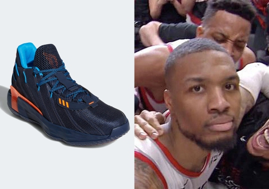 adidas Releases Damian Lillard's Shoe Inspired By His Savage Series-Ending Walk Off Shot Against OKC