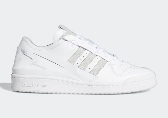 The adidas Forum '84 Lo Minimalist Appears In An Equally-Minimal Colorway