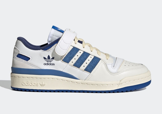 """The adidas Forum '84 Lo Is Coming Soon In OG """"Bright Blue"""""""