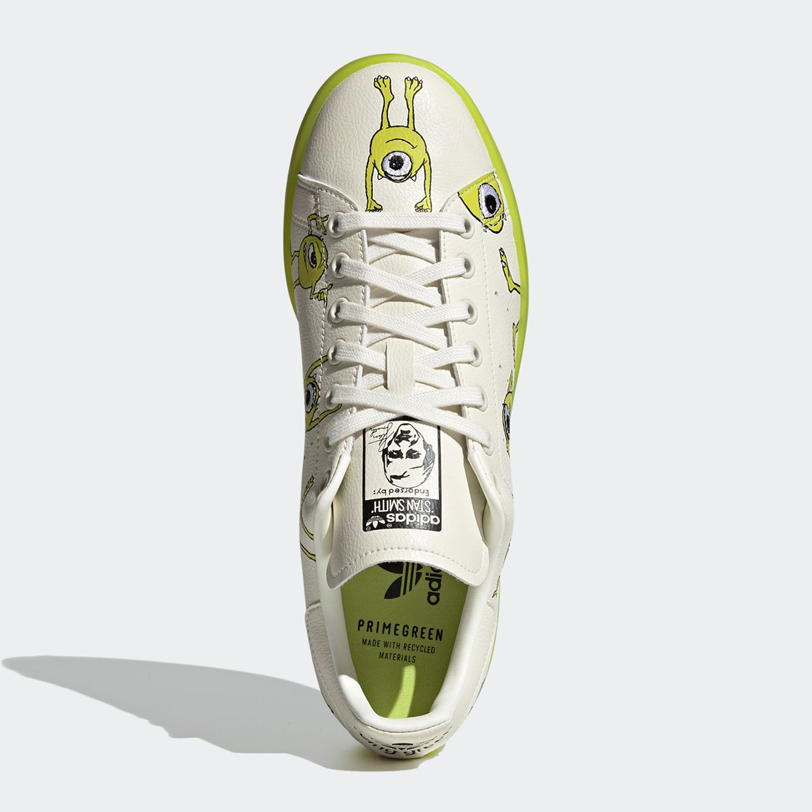 Monsters Inc adidas Stan Smith Mike Wazowski FZ2706 | SneakerNews.com