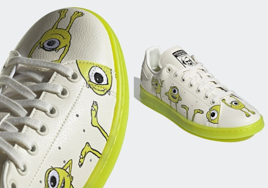 Monsters, Inc's Mike Wazowski Makes A Cameo On The adidas Stan Smith