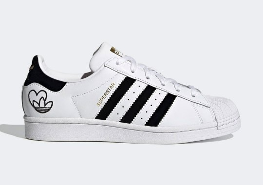 Hearts And Trefoils Featured On This Upcoming adidas Superstar