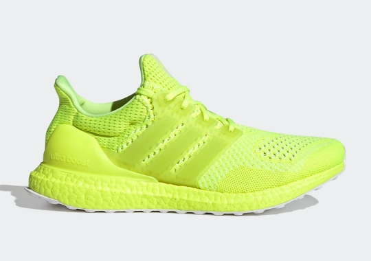 The adidas Ultra Boost Gets Covered In Solar Yellow