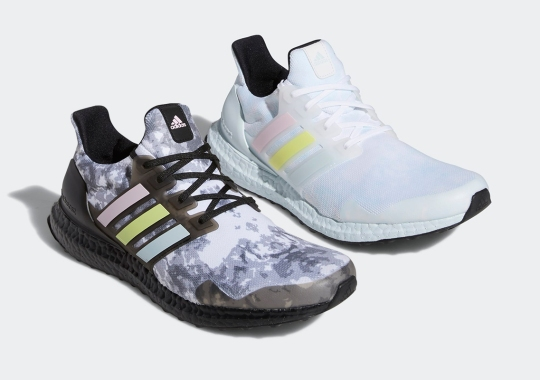 A Light Rorschach Test Appears On The Latest UltraBOOST Duo