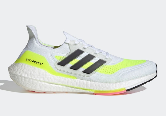 """The adidas UltraBOOST 21 """"Solar Yellow"""" Is Coming On February 4th"""