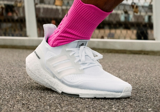 """adidas Ultraboost 21 """"Cloud White"""" Is Available Now"""