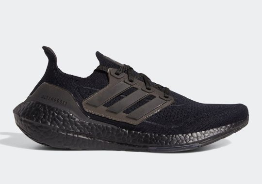 "The adidas Ultraboost 21 ""Triple Black"" Releases On February 4th"