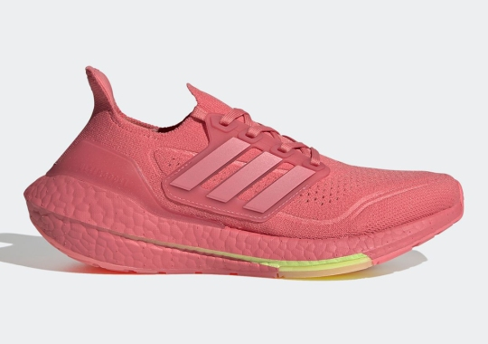 "adidas Ultraboost 21 ""Hazy Rose"" Set For Release On Big Launch Day"