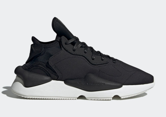 adidas Y-3 Keeps It Simple With This Black And White Kaiwa