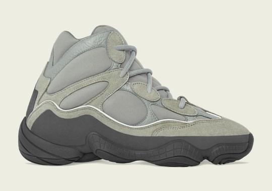 """The adidas Yeezy 500 High """"Mist"""" Arrives On February 8th"""