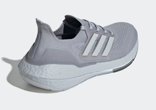 "First Look At The adidas UltraBOOST 21 ""Halo Silver"""