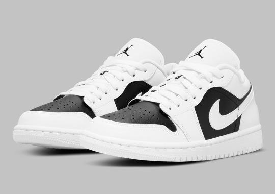 The Women's Air Jordan 1 Low Goes Simple White And Black