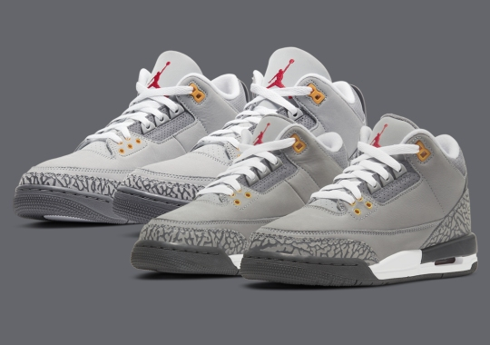 """Official Images Of The Air Jordan 3 """"Cool Grey"""""""