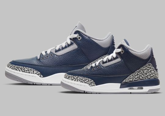 """Official Images Of The Air Jordan 3 """"Midnight Navy/Cement Grey"""""""