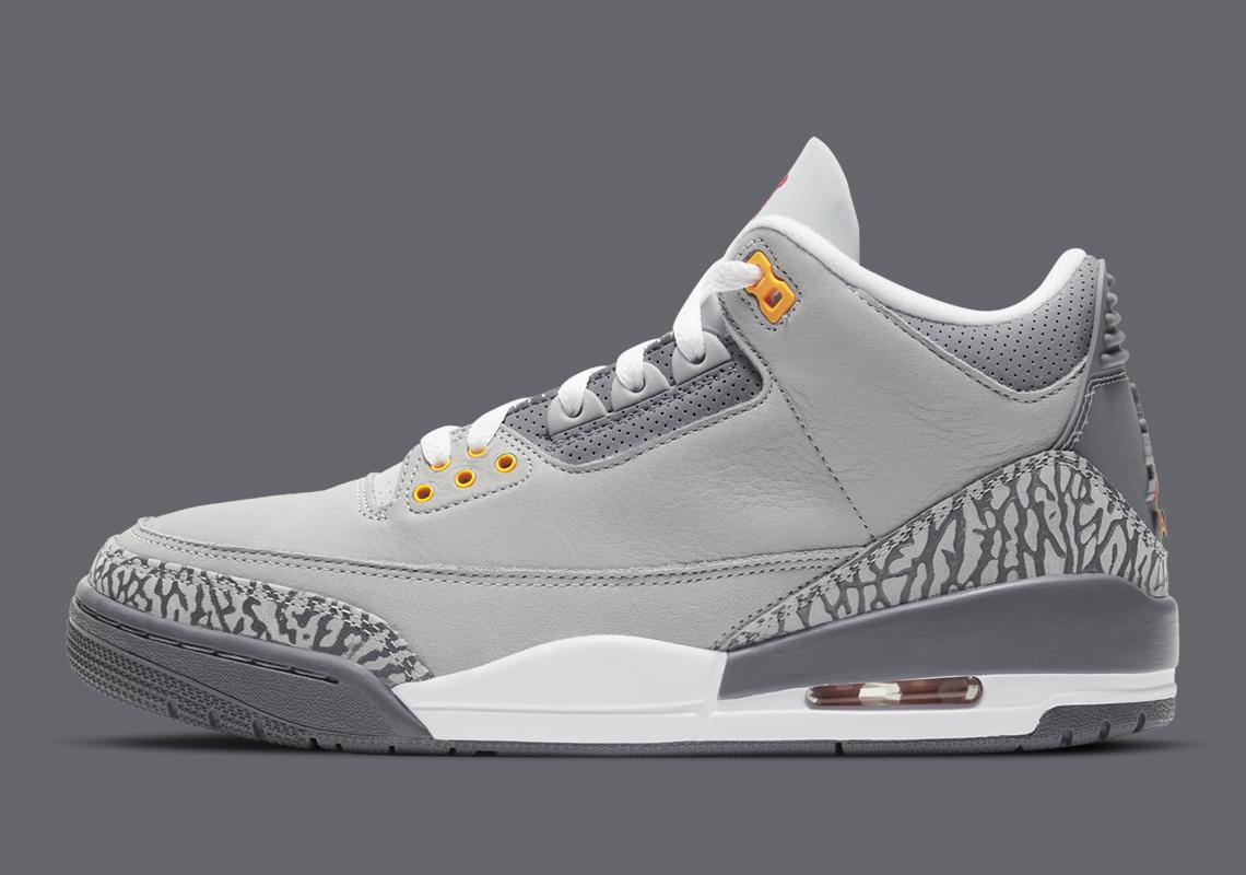 Air Jordan 3 Cool Grey 2021 Release Info Adult Kids   SneakerNews.com