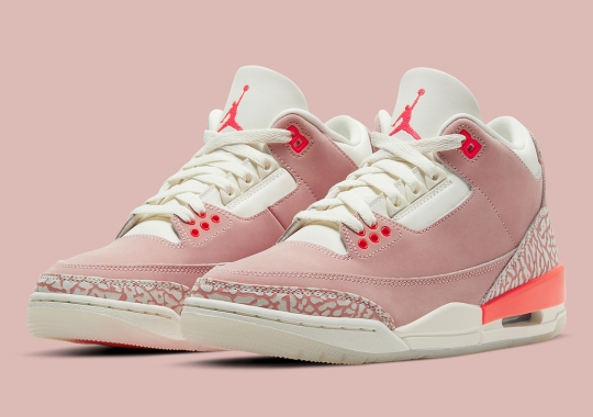 "The Air Jordan 3 Appears In A Women's Exclusive ""Rust Pink"""