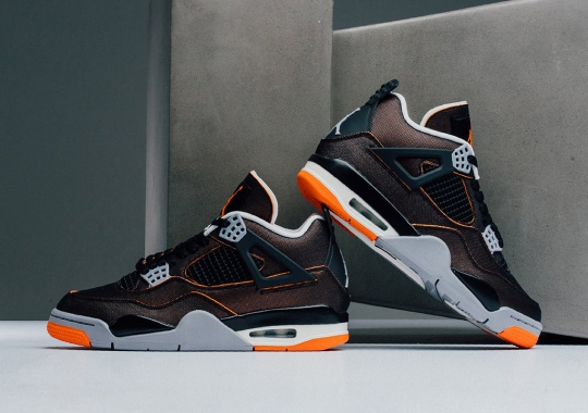 "The Air Jordan 4 ""Starfish"" Releases Tomorrow"