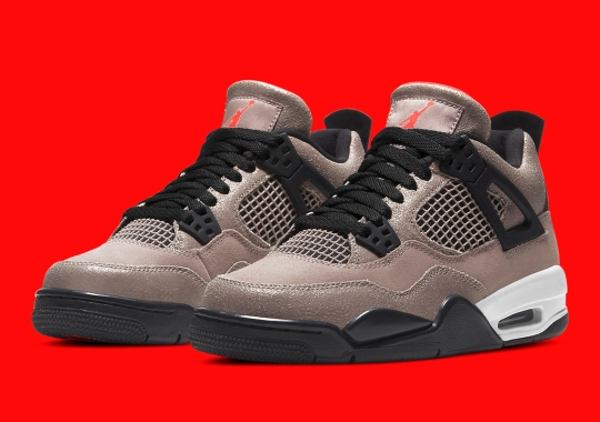"The Air Jordan 4 ""Taupe Haze"" Is Releasing In Kids Sizes On January 28th"