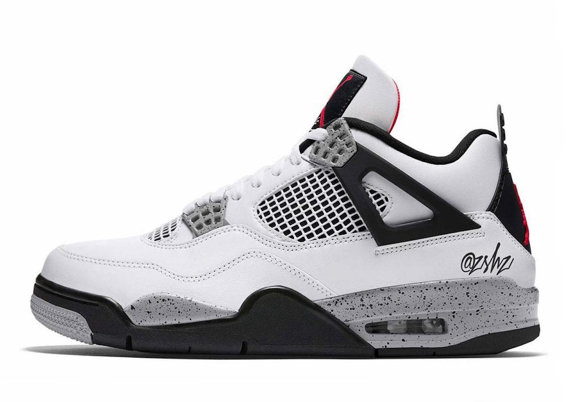 Tentación mezclador papel  Air Jordan 4 White Tech Grey Black CT8527-100 | SneakerNews.com