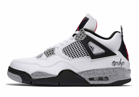 "The Air Jordan 4 ""White Cement"" Returns… With Some Slight Tweaks"