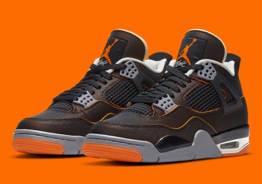 "Official Images Of The Air Jordan 4 ""Starfish"""
