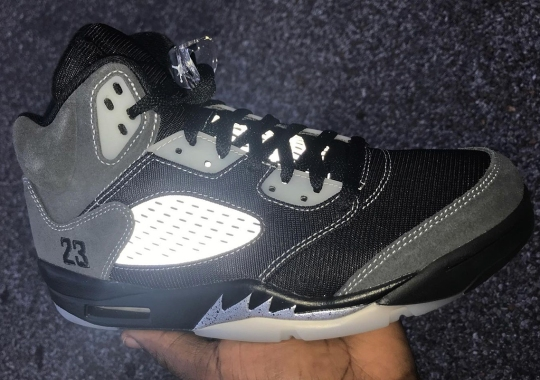 "Detailed Look At The Air Jordan 5 ""Anthracite"""