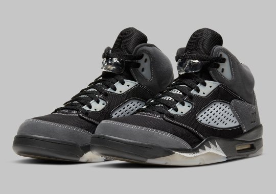"Official Images Of The Air Jordan 5 ""Anthracite"""