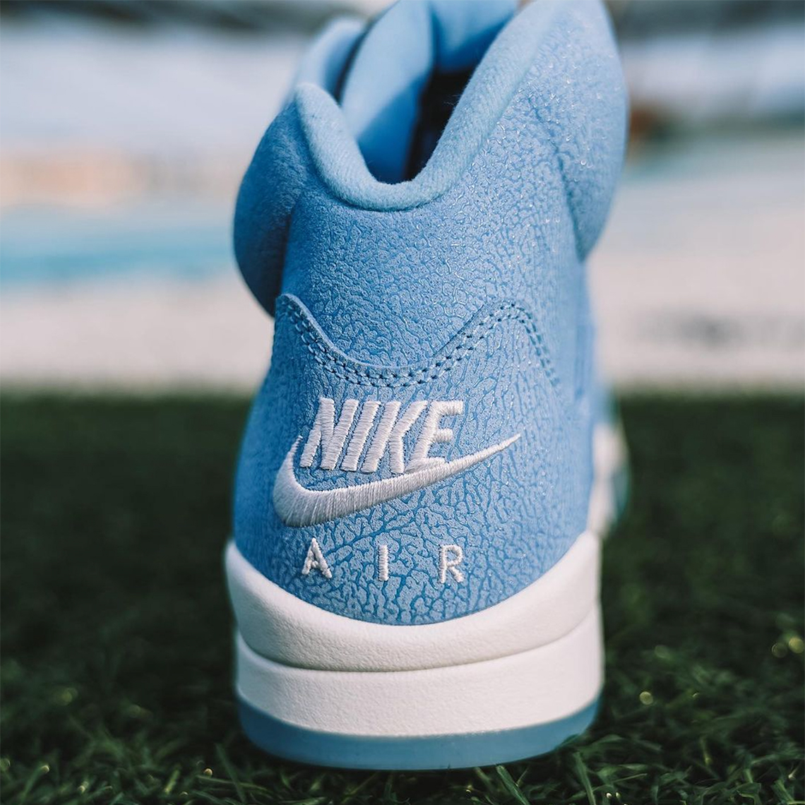 Air Jordan 5 UNC Football PE | SneakerNews.com