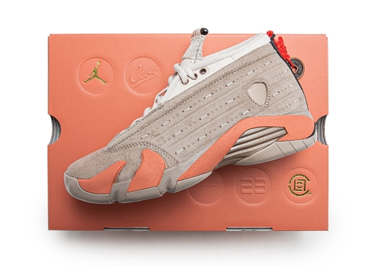 "CLOT Officially Announces The Air Jordan 14 Low ""Terracotta"""